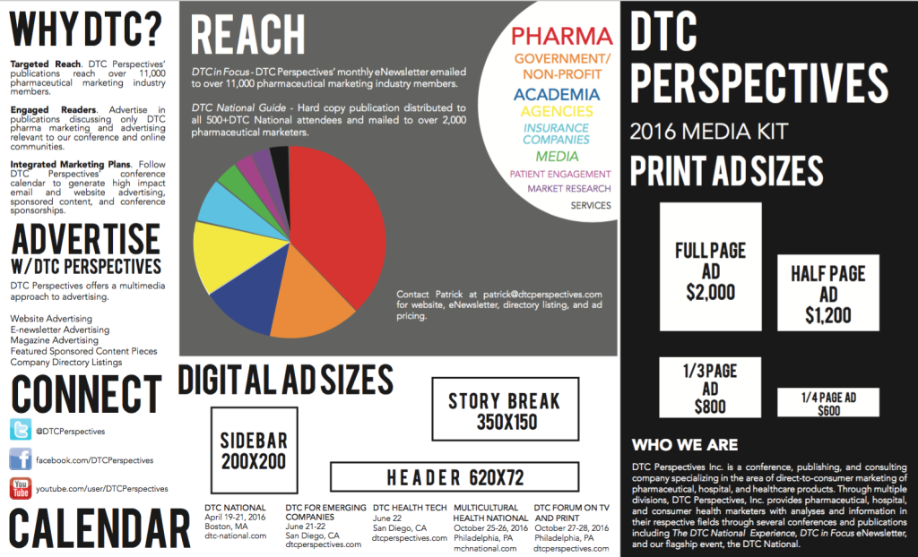 Pharma Media Kit - DTC Perspectives