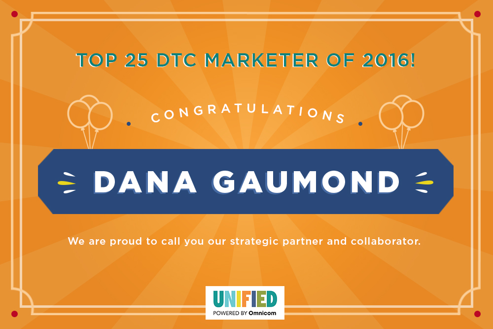 Dana Gaumond Top 25 DTC Marketer